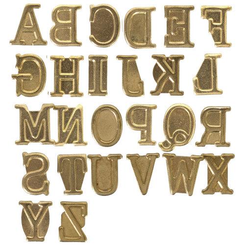 Hot Stamps Alphabet Set 26/Pkg-Upper Case