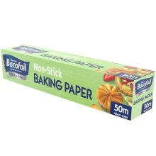Professional Bacofoil 450mm x 50m Non Stick Baking Paper