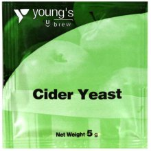 Youngs Cider Yeast 5g Sachet - Homebrew