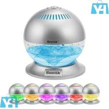 Globe Air Scent Revitaliser Purifier Freshener Ioniser Color Changing LED Light