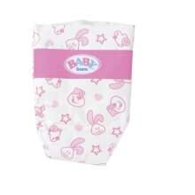 doll diapers 5 pieces for doll up to 43 cm