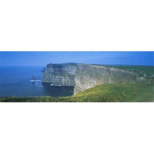 Rock Formations At The Coast Cliffs of Moher The Burren County Clare Republic of Ireland Poster Print, 18 x 6