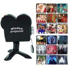 Window Projector Halloween Xmas Movies Displays Festival Wonderland