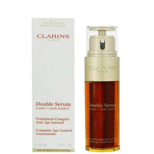 Clarins Double Serum Complete Age Control - 50ml | Anti-Ageing Serum