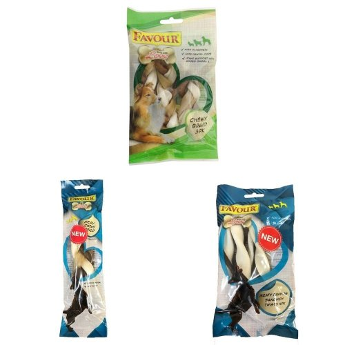 Favour Rawhide Chewy Dog Treats