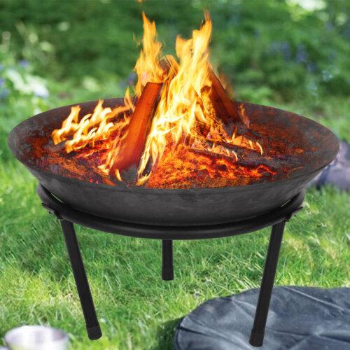 50cm Cast Iron Fire Bowl Fire Pit