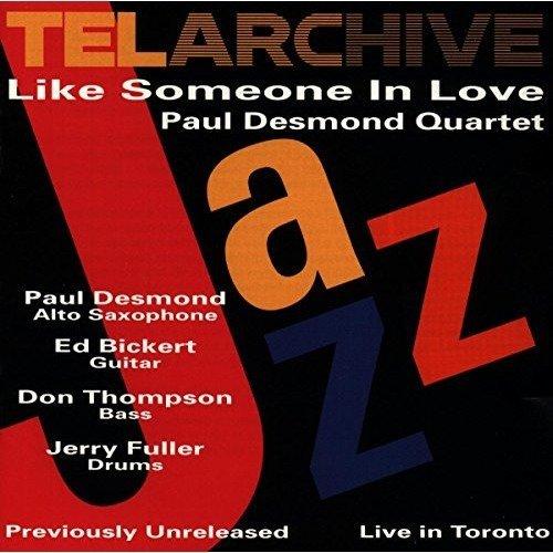 Paul Desmond Quartet - Like Someone in Love [CD]