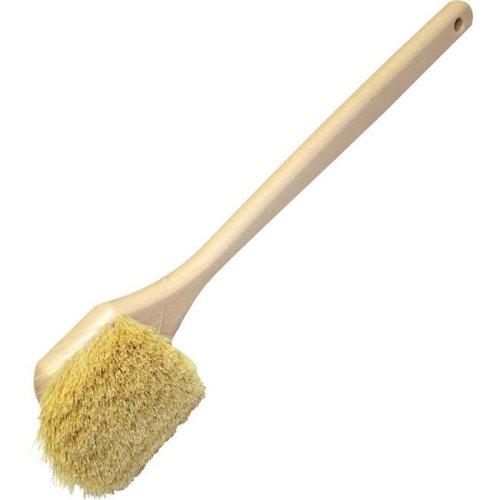20 in. Tampico Utility Brush - White