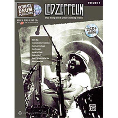 Alfred 00-32416 UPA LED ZEPPELIN DRUMS V1-BK&2CD