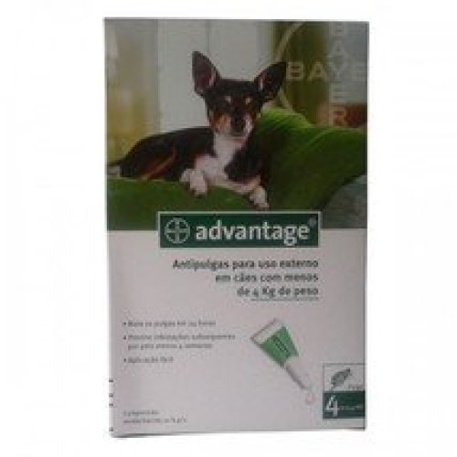 Advantage Bayer 40 for Small Dogs < 4kg