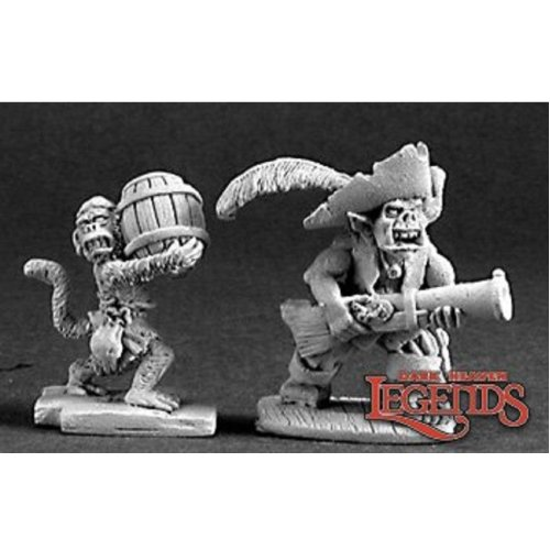 Reaper Dark Heaven Legends 03211 Goblin Pirate And Powder Monkey