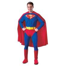 Superman Mens Deluxe Costume