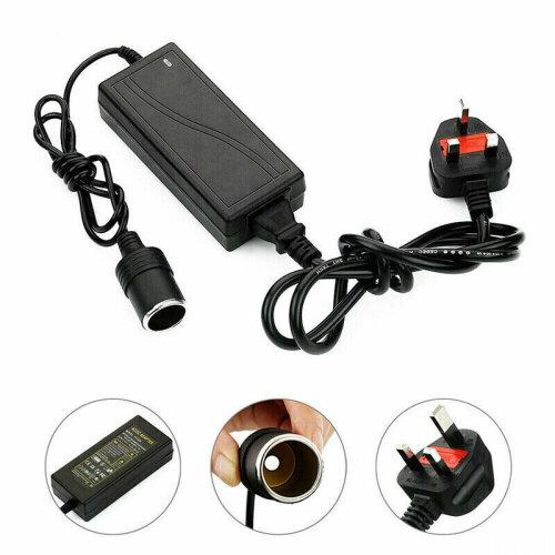 AC/DC Car Cigarette Lighter Socket 60W Power Adapter Converter Cable