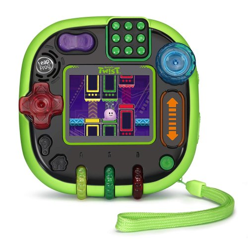 LeapFrog RockIt Twist Handheld Gaming System Green Ages 4-10 Years