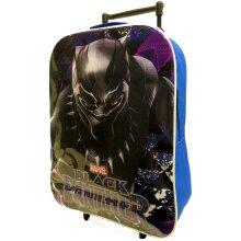Black Panther Foldable Trolley Cabin Bag