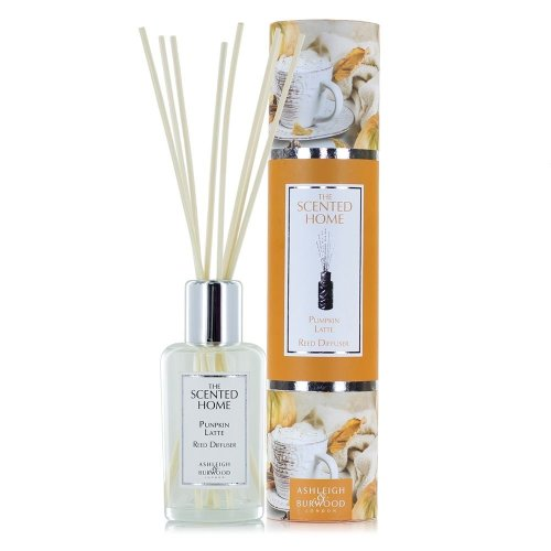 Ashleigh & Burwood Scented Home 150ml Reed Diffuser Gift Set Pumpkin Latte