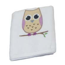 Embroidered Kids 100% Cotton Face Flannels 500 Gsm - 2 Pack