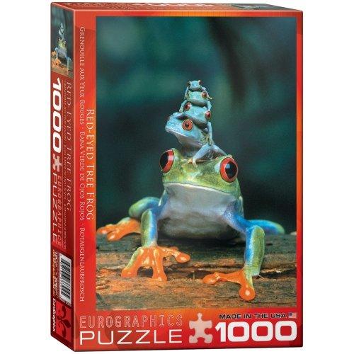Eg60003004 - Eurographics Puzzle 1000 Pc - Red-eyed Tree Frog