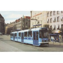 Kjelsas Oslo 125 Tram Norway Transport Postcard - Used