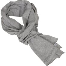 Build your Brand Mens Lightweight Thin Plain Jersey Cotton Casual Scarf