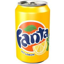 Fanta Lemon Cans - 24x330ml