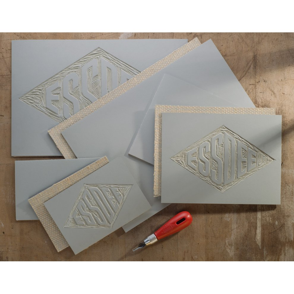 Essdee Self-adhesive Mastercut Printing Stamps for Use With Lino Cutter And