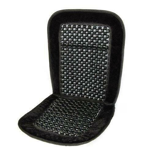 COMFY CAR COMFORT FRONT BEADED SEAT SUPPORT FOR MINI CAB DRIVER LONG DISTANCE - road 81436c