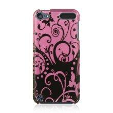 DreamWireless IPOD-CATH5PPBKSW Ipod Touch 5 Crystal Case - Purple With Black Swirl