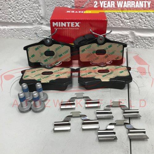 FOR C3 C4 C8 DS3 DS4 XSARA PICASSO PEUGEOT 207 208 307 REAR MINTEX BRAKE PADS