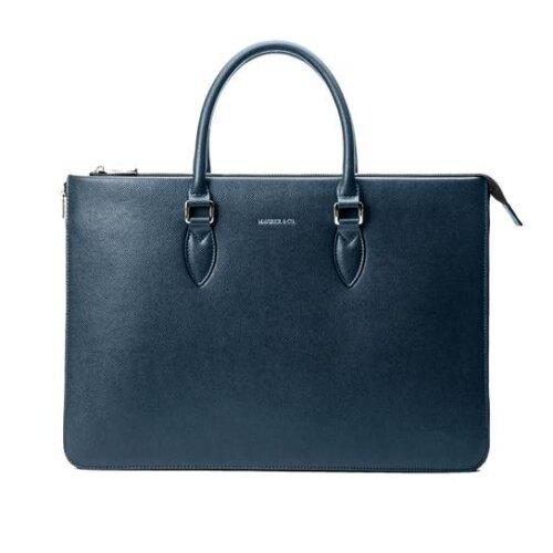 (Blue) Maverick & Co. Limitless Voyage Briefcase