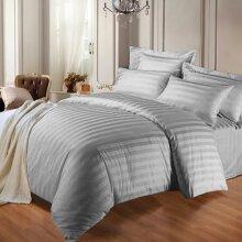 Reversible Satin Duvet Quilt Cover Bedding Set