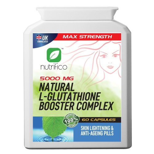 Natural L-glutathione Booster Complex 5000mg High Strength Pills