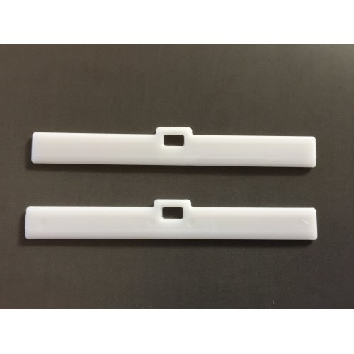 """Pack of 10 Vertical blind low profile hole top hangers 3.5"""""""