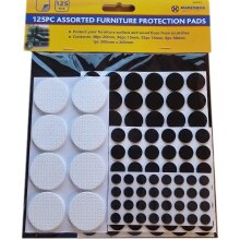 125Pc Assorted Furniture Protection  Pads