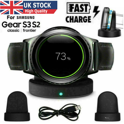 Wireless Charger For Samsung Gear S2 S3 Classic/Frontier Watch Charging Dock