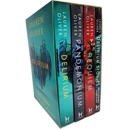 Delirium Trilogy Series Collection 4 Books Box Set by Lauren Oliver