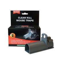Rentokil FC100 Clean Kill Mouse Traps Pack of 2