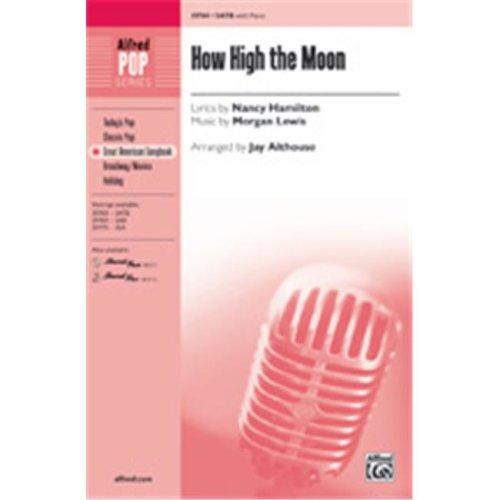 Alfred 00-39771 HOW HIGH THE MOON-STRX CD