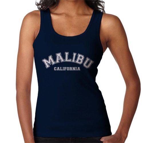 Malibu College Text Women's Vest