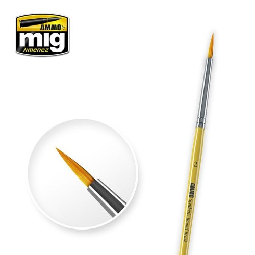 Ammo by Mig - Synthetic Round Brush Size 2