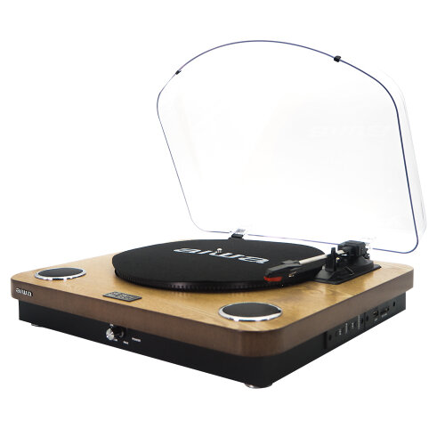 ALL-IN-ONE STEREO TURNTABLE GBTUR-120WD