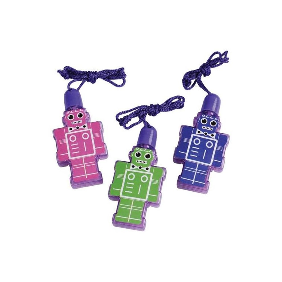 US Toy 4432 Robot Bubbles Toy - Pack of 12