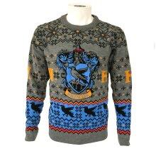 Harry Potter Unisex Adult Ravenclaw Christmas Jumper