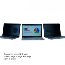 """KAPSOLO 2-way Privacy Filter for Laptop Screen 14"""""""