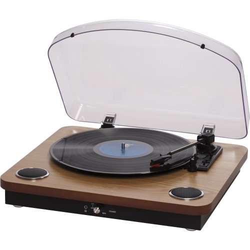 Denver VPL-200WOOD USB turntable with PC sw VPL-200WOOD