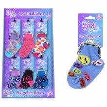 Its Girl Stuff Sock Coin Purse