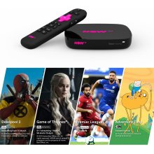 NOW TV Smart Box with 4K & Voice Search - 4 NOW TV Pass Bundle