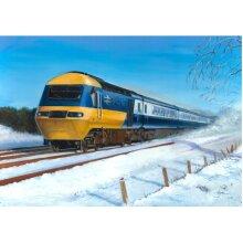 Intercity Inter-City 125 HST British Rail Train Christmas Xmas Card