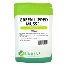 Lindens Green Lipped Mussel Extract 2-PACK 180 Capsules 500mg Quality Supplement