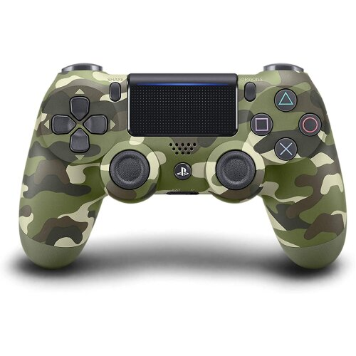Sony DualShock 4 Controller | Official PlayStation PS4 Controller - Green Camouflage